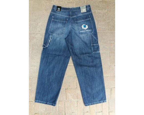 THE BLUE SKIN - JEANS BAGGY