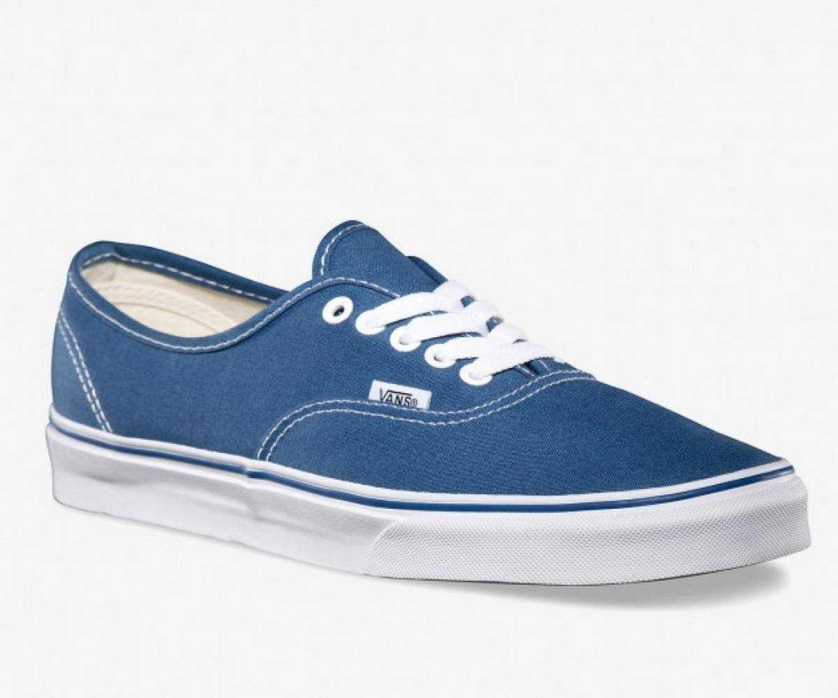 vans blu authentic