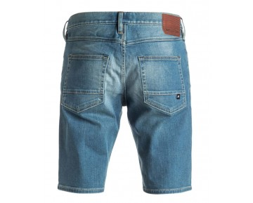 DC - WASHED STRAIGHT DENIM SHORT