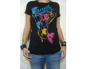 FAMOUS STARS AND STRAPS - FANCY JRS SCOOP TEE