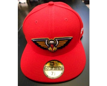 NEW ERA - NBA BASIC REVERSE NEW ORLEANS PELICANS TEAM 59FIFTY
