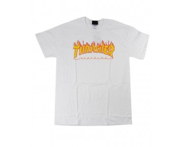 THRASHER - FLAME TEE