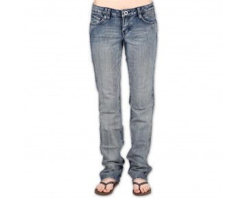 VOLCOM - STATIC STRAIGHT DENIM PANT